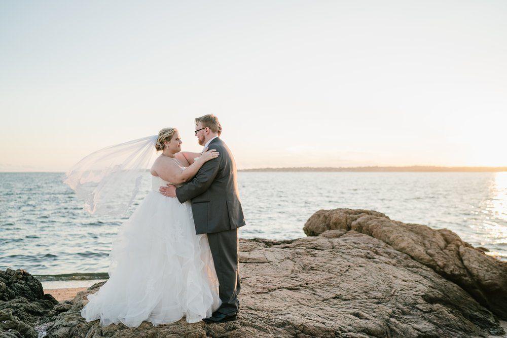 Connecticut Beach Wedding At Light House Point Park Details And Ideas Photos