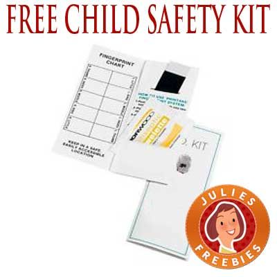 Free Child Safety Id Kit Julie S Freebies Kids Health Child Safety Safety Kit
