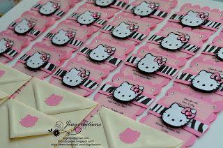 Hello kitty birthday party invitations in cricut sunshine and hello kitty birthday party invitations in cricut stopboris Choice Image