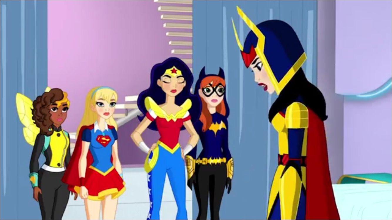 Mattel Dcsuperherogirls Dc Superhero Girls Pinterest