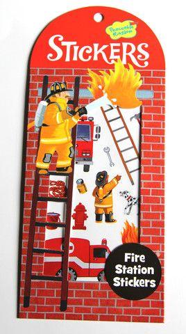 Mini Stickers Fire Station