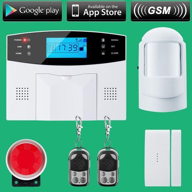 Wireless SMS Home GSM Alarm system House intelligent DIY Burglar ...