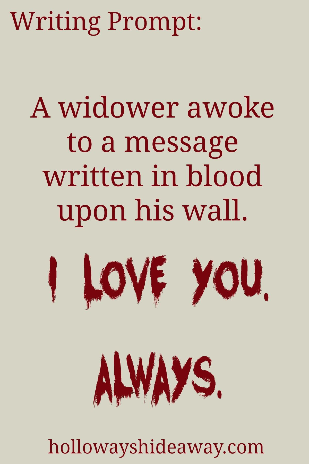 Valentine S Day Writing Prompts Feb A Widower Awoke To