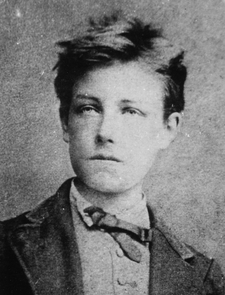 (Arthur) Rimbaud was a French poet. He is mentioned on page 65.