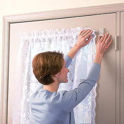 Miracle Rod Clear Magnetic Curtain Rod | Magnetic curtain rods ...