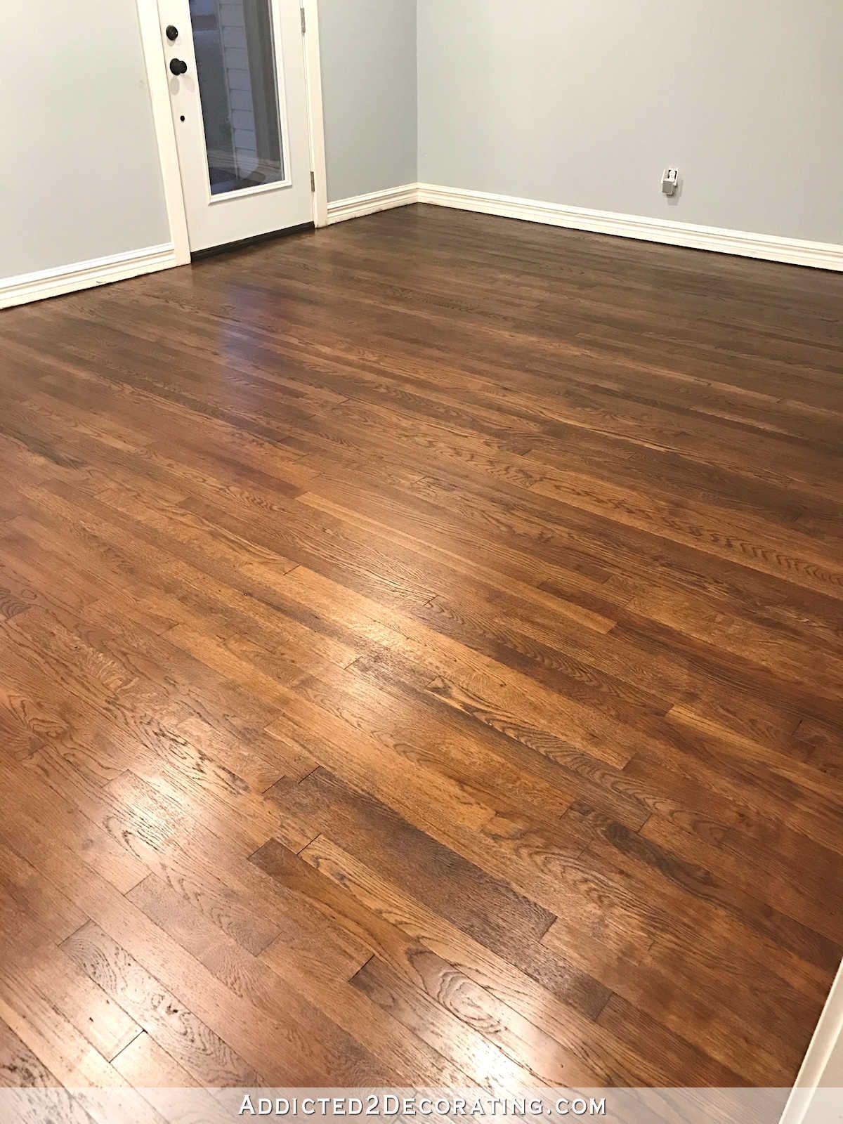 Refinishing Red Oak Hardwood Floors