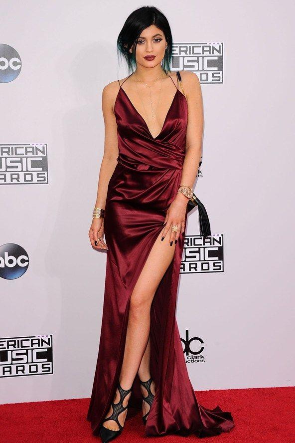 Kylie Jenner Amas 2014 Award Show Dresses Celebrity Dresses Nice Dresses