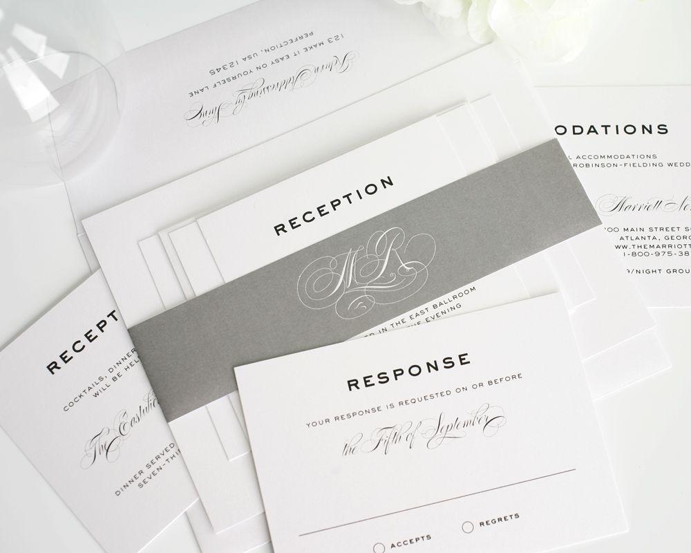 Classic Vintage Wedding Invitations | Pinterest | Vintage wedding ...