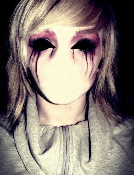 Halloween Looks Scary.35 Disgusting And Scary Halloween Makeup Ideas On Pinterest