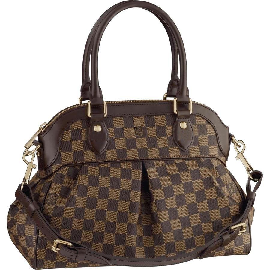 1cae55b6f5 Louis Vuitton Trevi PM Damier Ebene Canvas N51997 | Accessorize ...