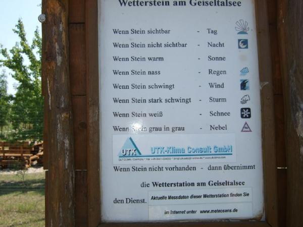 Anleitung für Wetterstein - Geiseltalsee