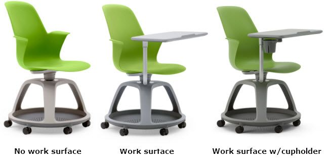 the steelcase node chair is a great addition to a classroom or learning environment giving you a comfortable seat that aids in promoting healthy postures - Steelcase Chairs
