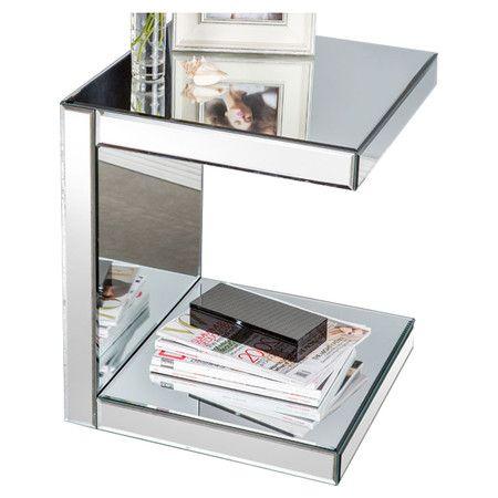 Thaelan Side Table, mirrors