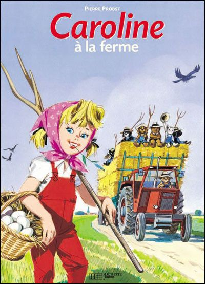 livre bd caroline
