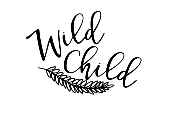Wild Child SVG/Ai/EPS By CraftyLittleNodes | Silhouette ...