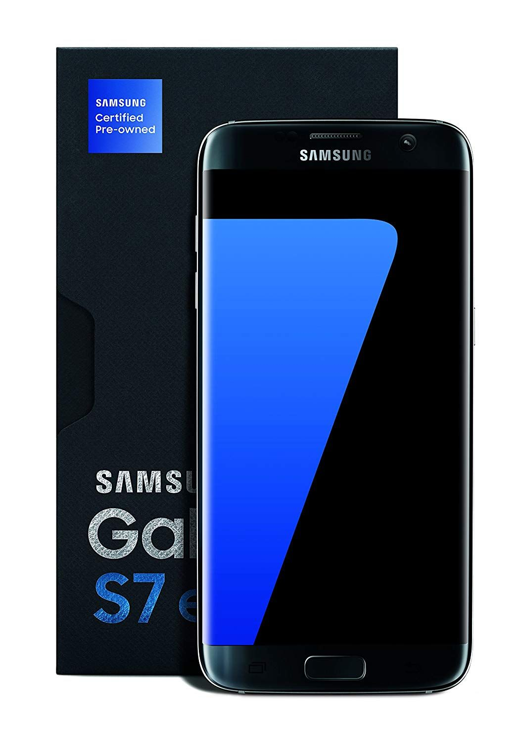 Is Available Samsung Galaxy S7 Edge Certified Pre Owned Factory Unlocked Phone 5 5 Screen 32gb Titan Samsung Galaxy S7 Edge Unlocked Cell Phones Samsung
