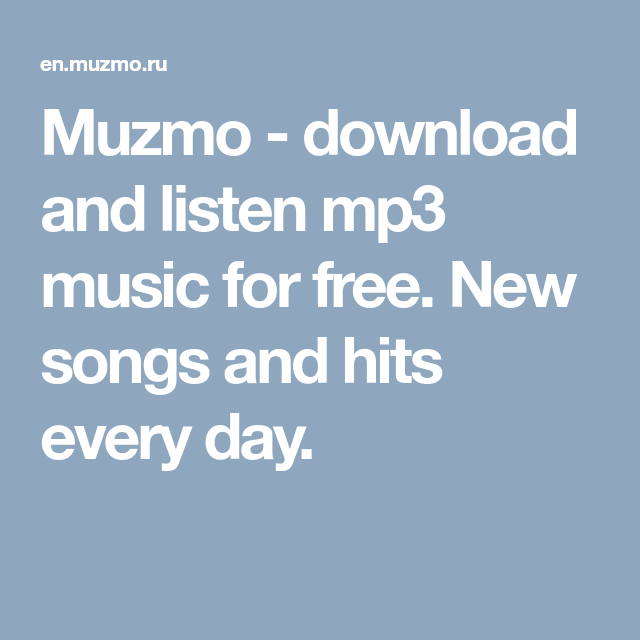 It worth doing or to download muzmo