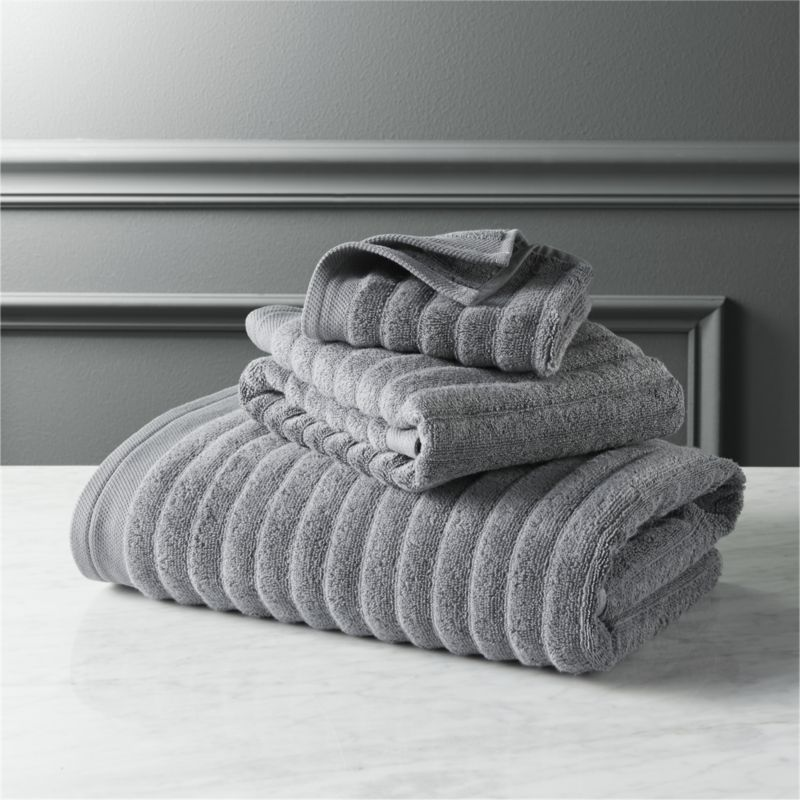 Channel Grey Cotton Bath Towels Cotton Bath Towels Striped Bath Towels Grey Bath Towels