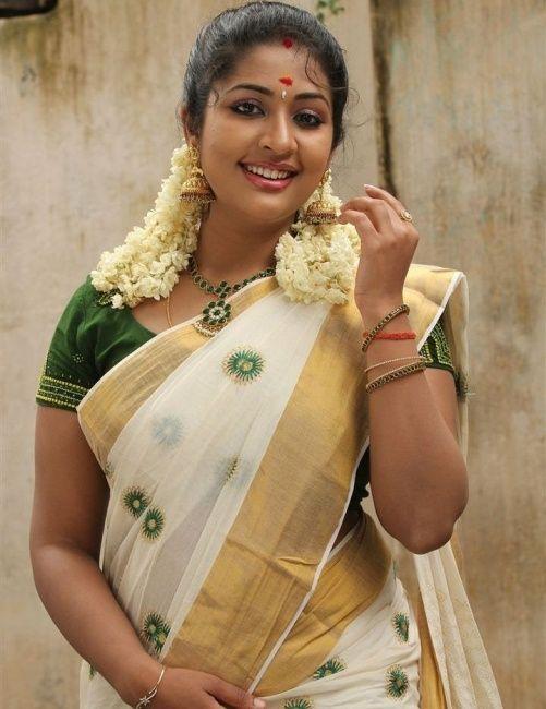 Saree kerala traditional