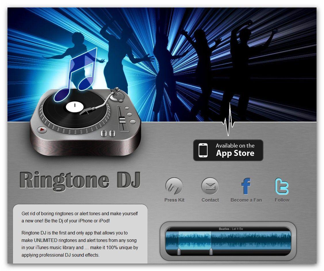 Ringtone Dj Ringtone Dj Adds A Unique Flavor To Your Iphone Sounds With Personalized Mobile Application Development Mobile Application Application Development