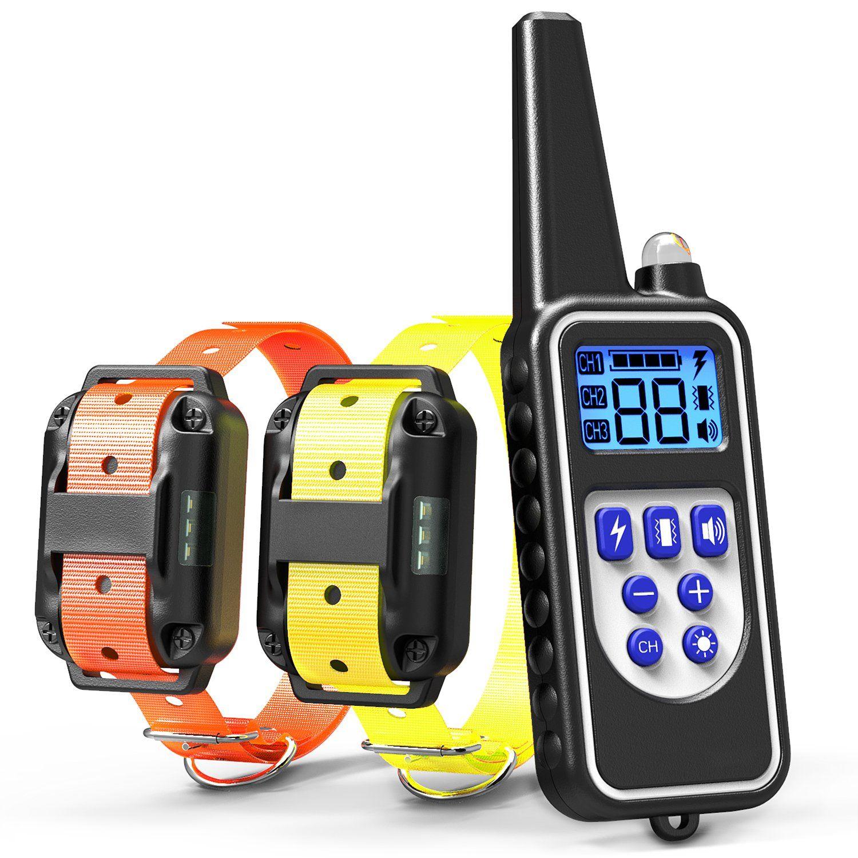 Cambond Dog Shock Collar With Remote Dual Dog Training Collar