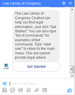Law Library of Congress Chatbot | Free Legal Resources