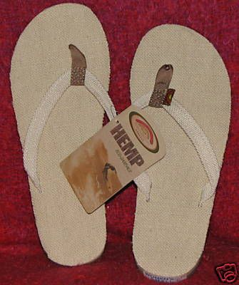 d37ef867e825aa Just bought a pair of these hemp flip flops.