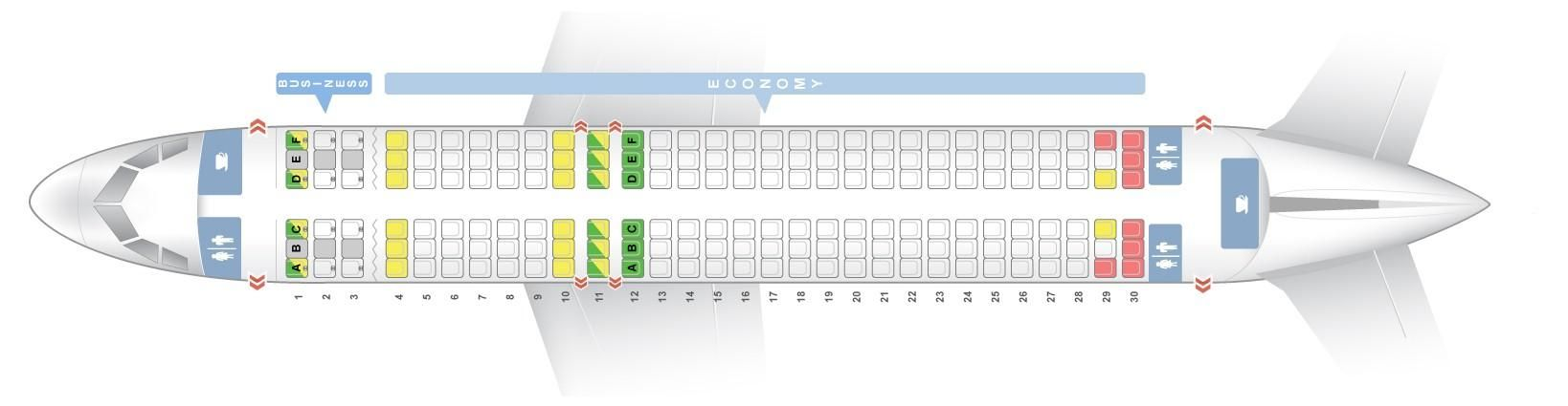 Seat Map And Seating Chart Airbus A320 200 V2 Brussels Airlines Airbus Fleet Vueling Airlines