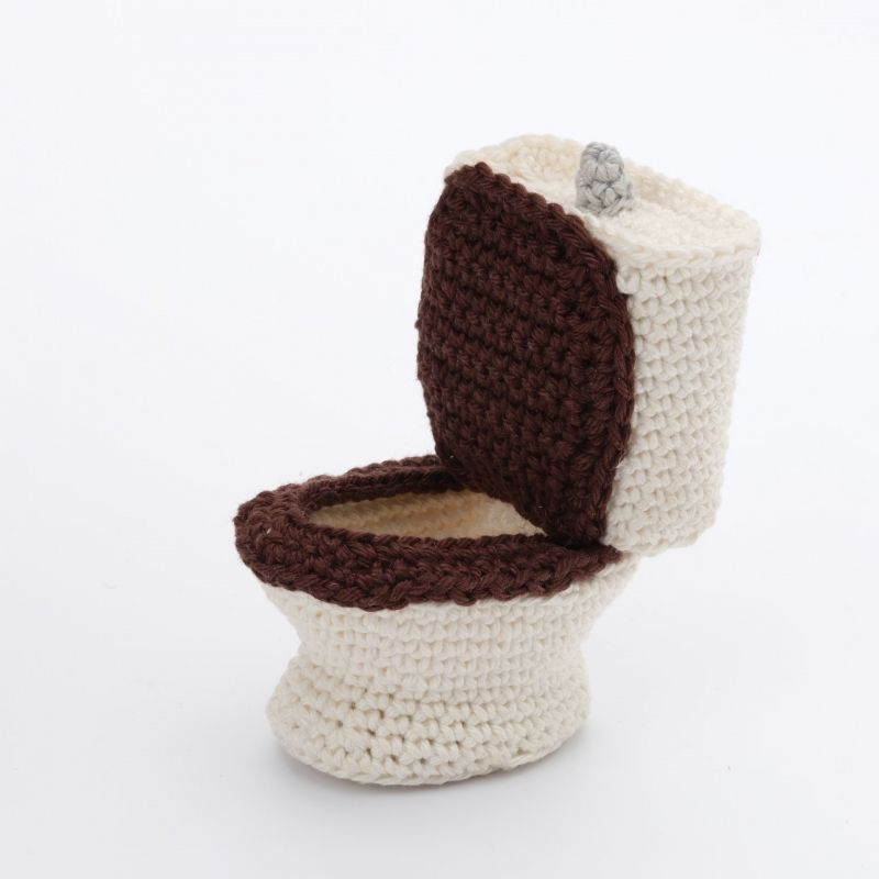 Furniture Bathroom amigurumi pattern by Christel Krukkert | Patrones