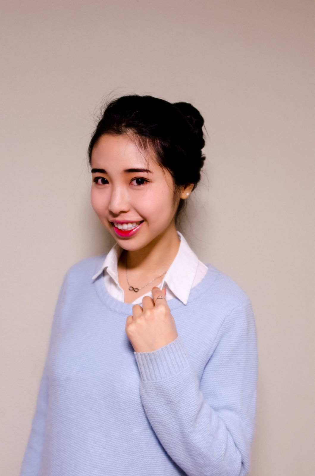 dainty asian woman