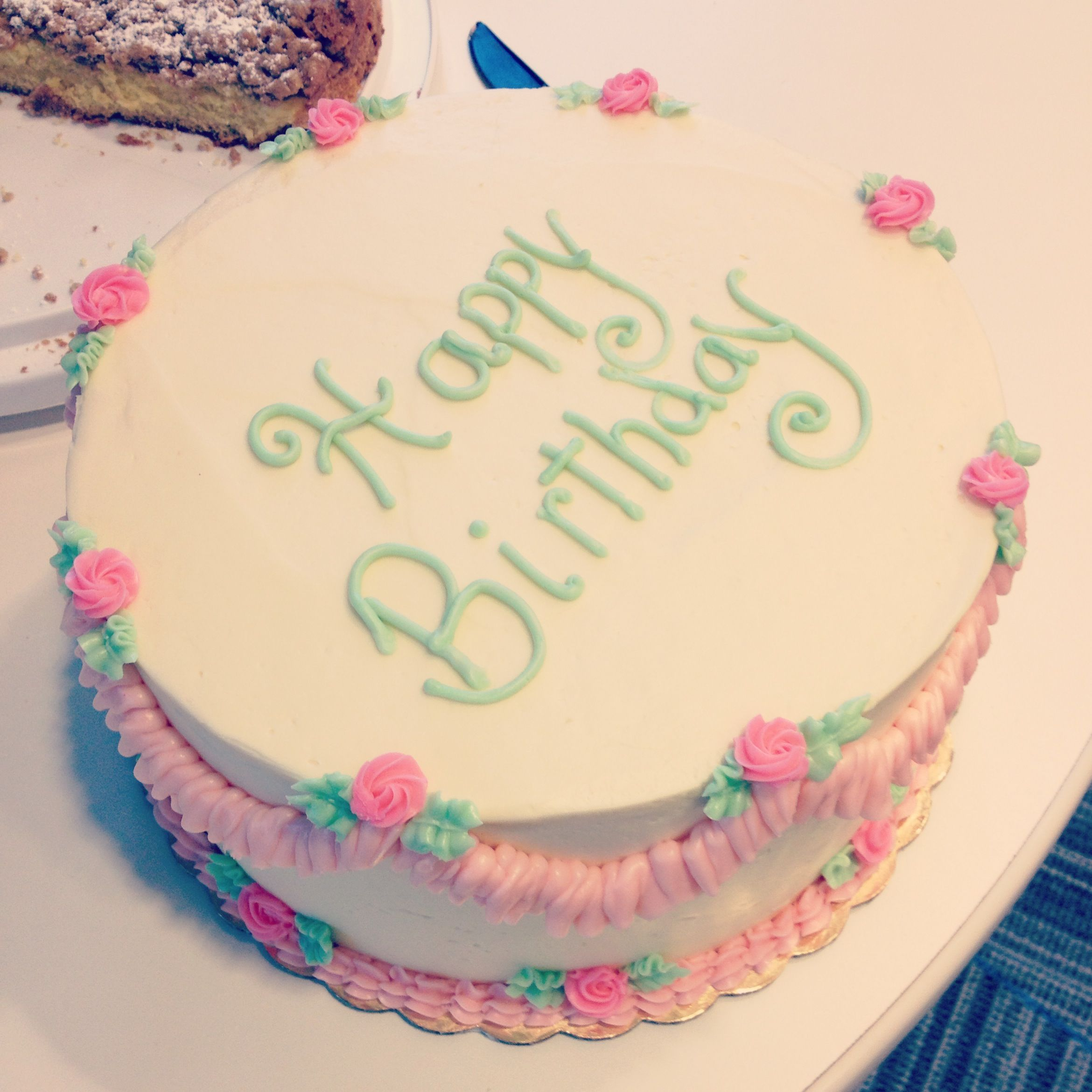 Happy Birthday Cake By Confections By Kristin Cakes Pinterest