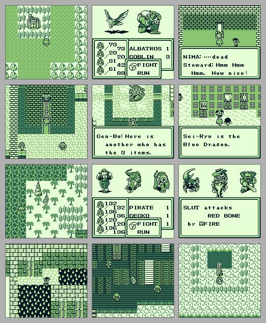 Final Fantasy Legend For The Original Game Boy Was The First