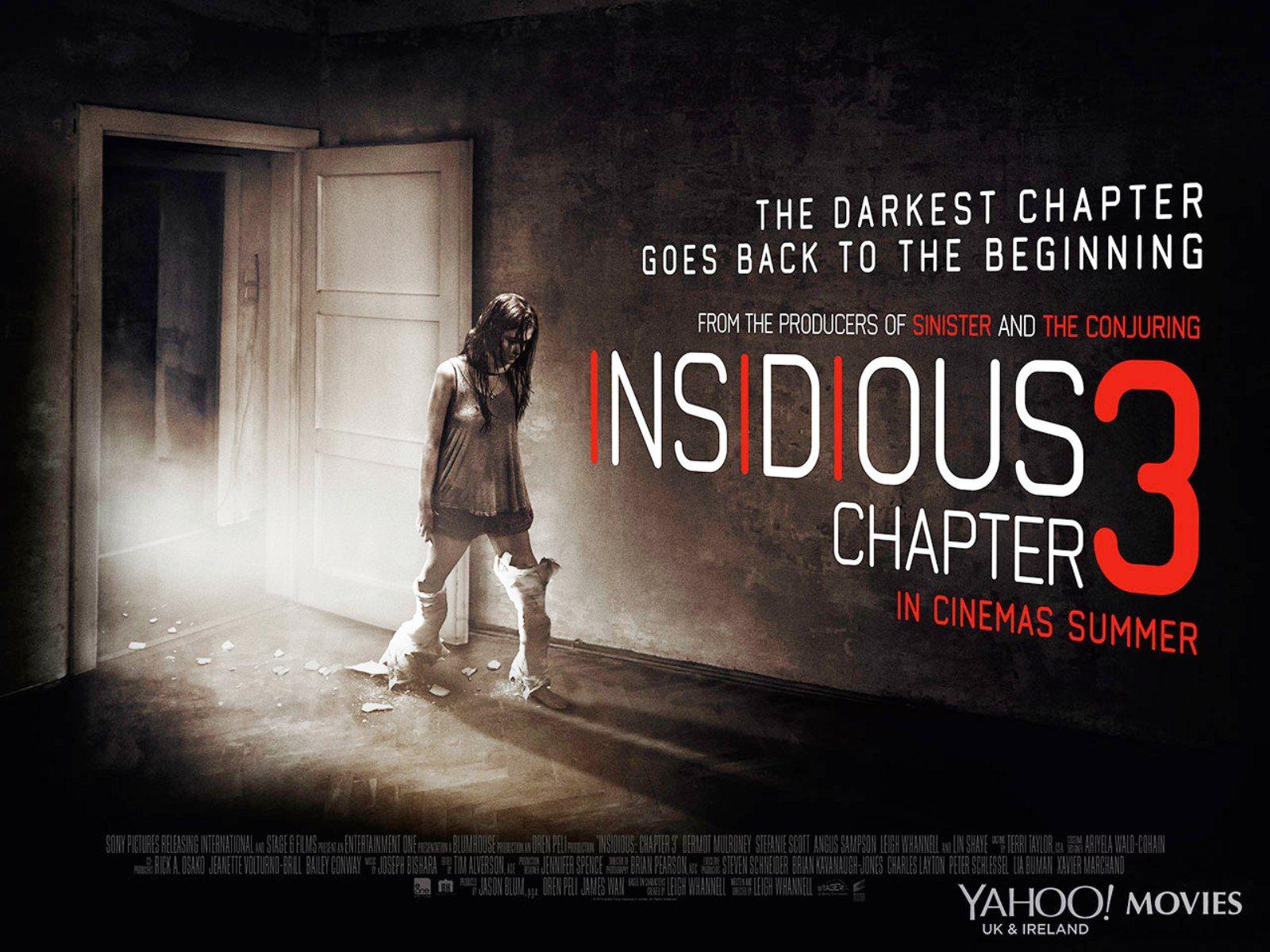 Insidious Chapter 3 Horror Movie Wallpaper Movie Wallpaper