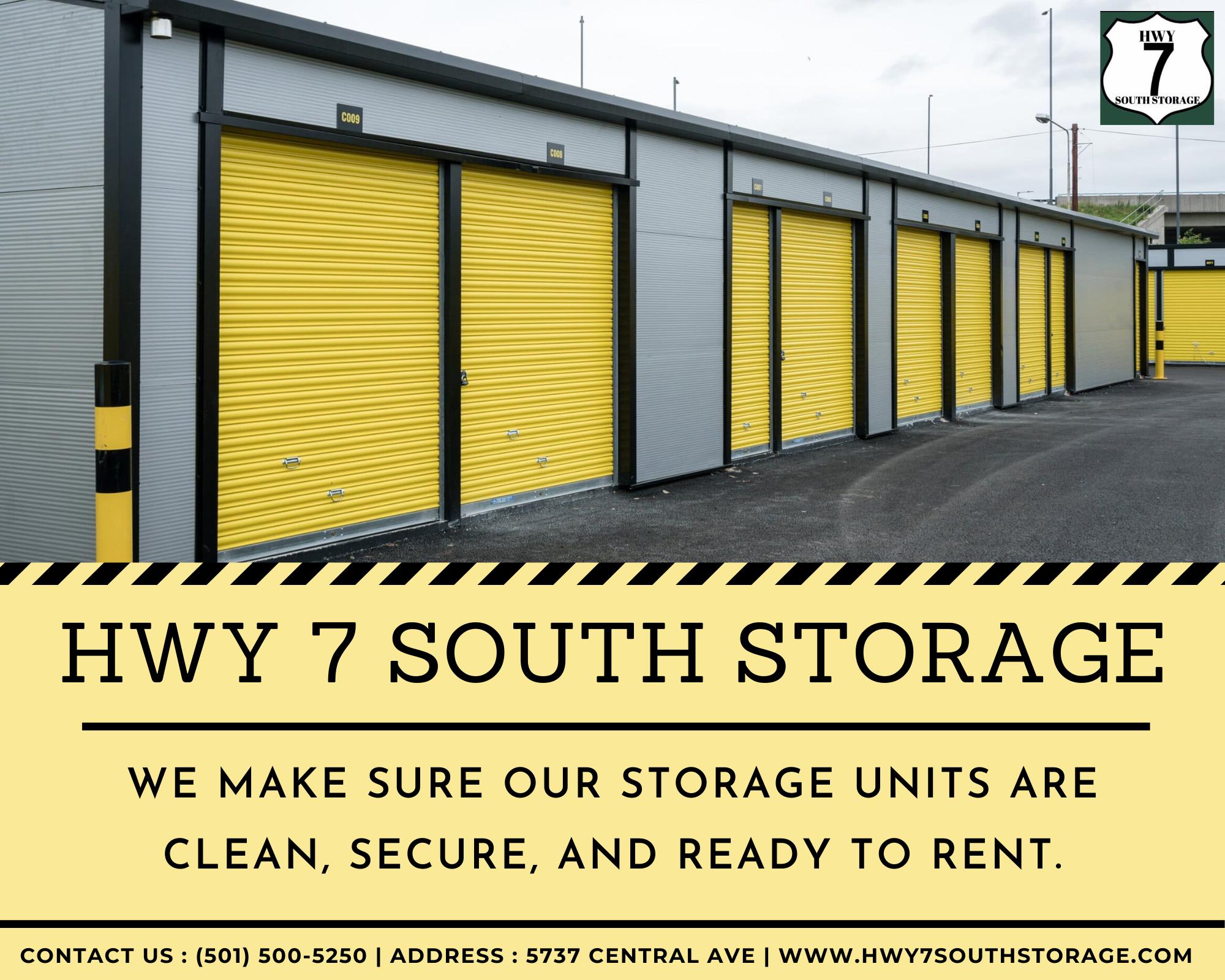 Clean Secure Rental Storage Self Storage Storage Unit Rental Hot Springs