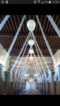 Luftballons In Der Kirche Wedding Pinterest Wedding Church