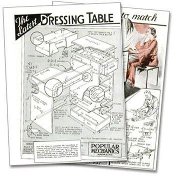 Retro DIY Project - Dressing Table | Frugal decor, Popular ...