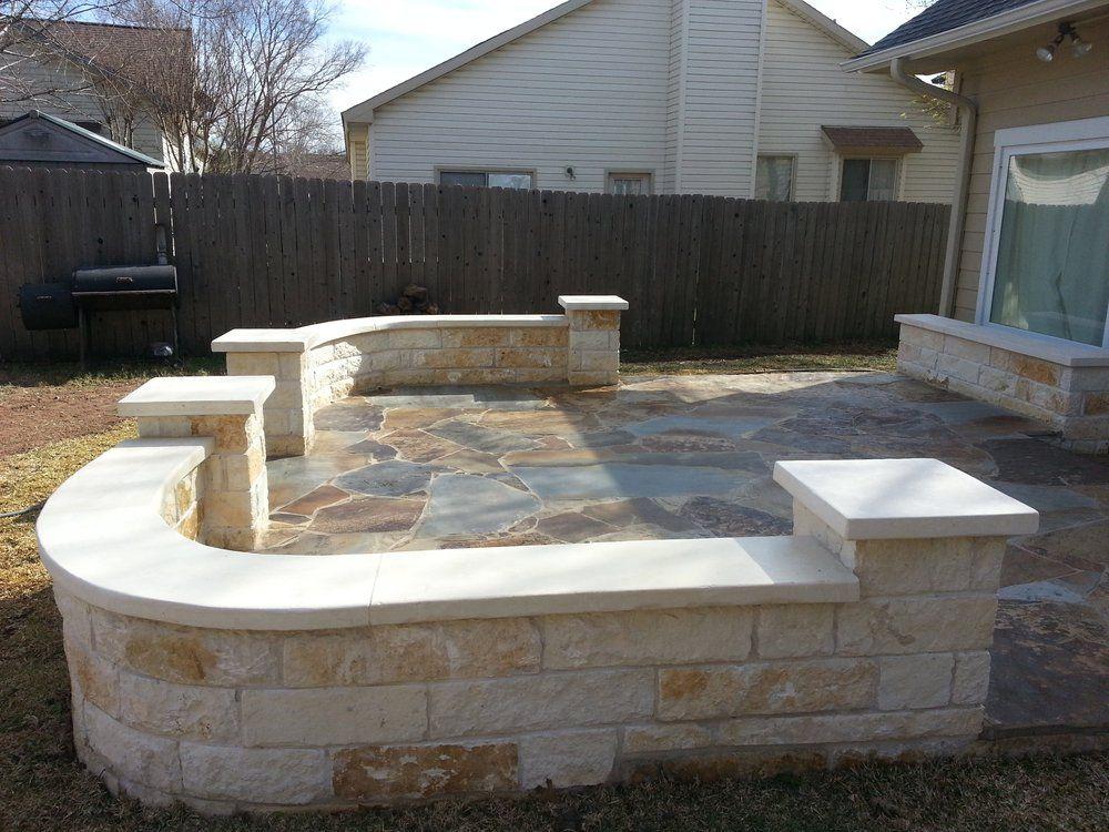 Austin Yard Builder Masonry Contractor   Austin, TX, United States. Austin  Patio Stone