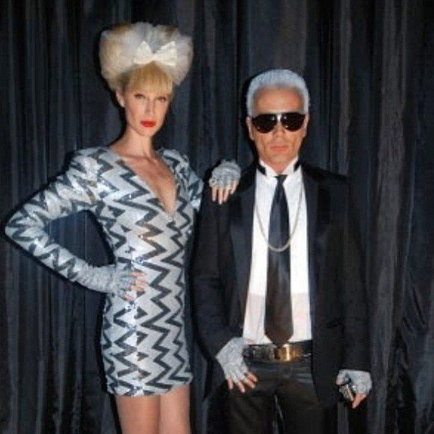 FlashBack  Baile de carnaval da Vogue 2010  Karl Lagerfeld ????