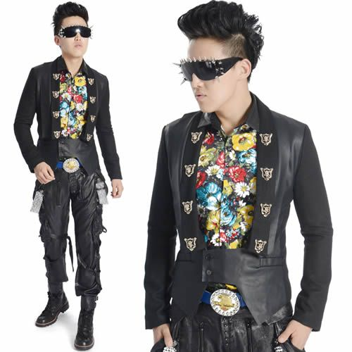 Alternative Black Retro Vintage Goth Hipster Indie Clothing Jackets Men SKU 11401437