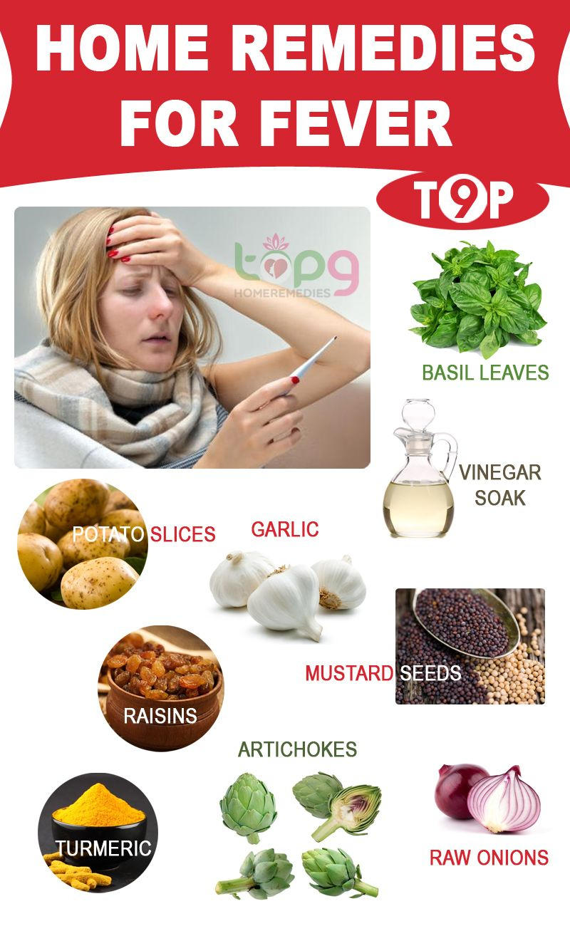 home remedies for cold flu and fever