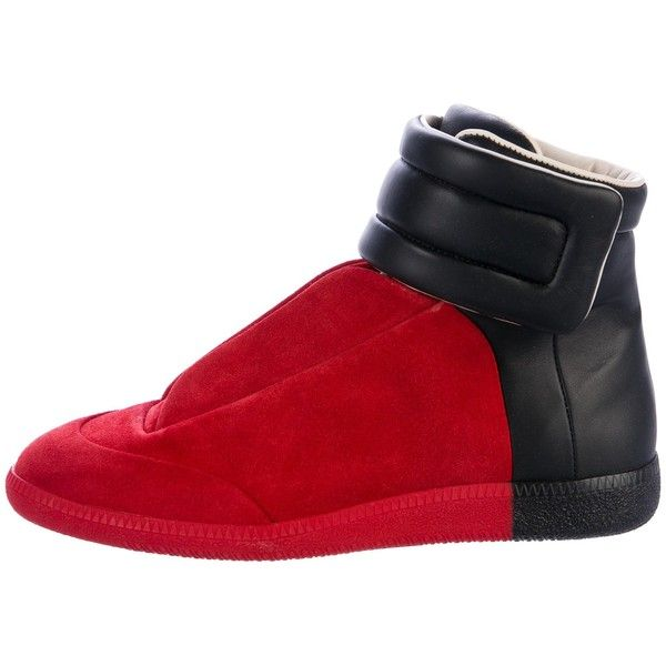 Pre-owned Maison Margiela 2016 Future High-Top Sneakers ( 595) ❤ liked on  Polyvore featuring men s fashion 39ef1398f0a1