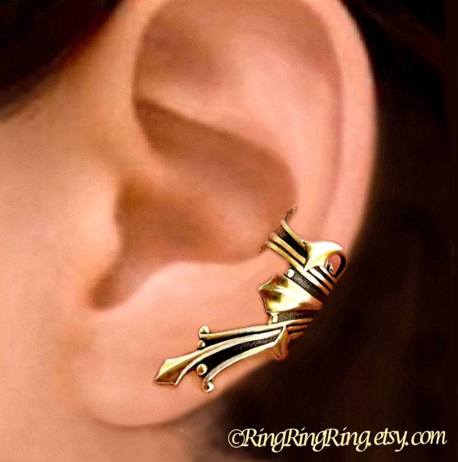 Piercing ideas men  Roman ear cuff  Jewelry  Pinterest  Roman Ear cuff earrings and