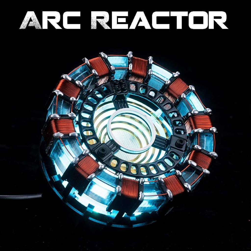 Marvel The Avengers Iron Man MK1 DIY Arc Reactor Lamp Kits Or Builted Models NEW