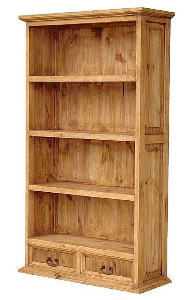 Pine Bookshelf Old
