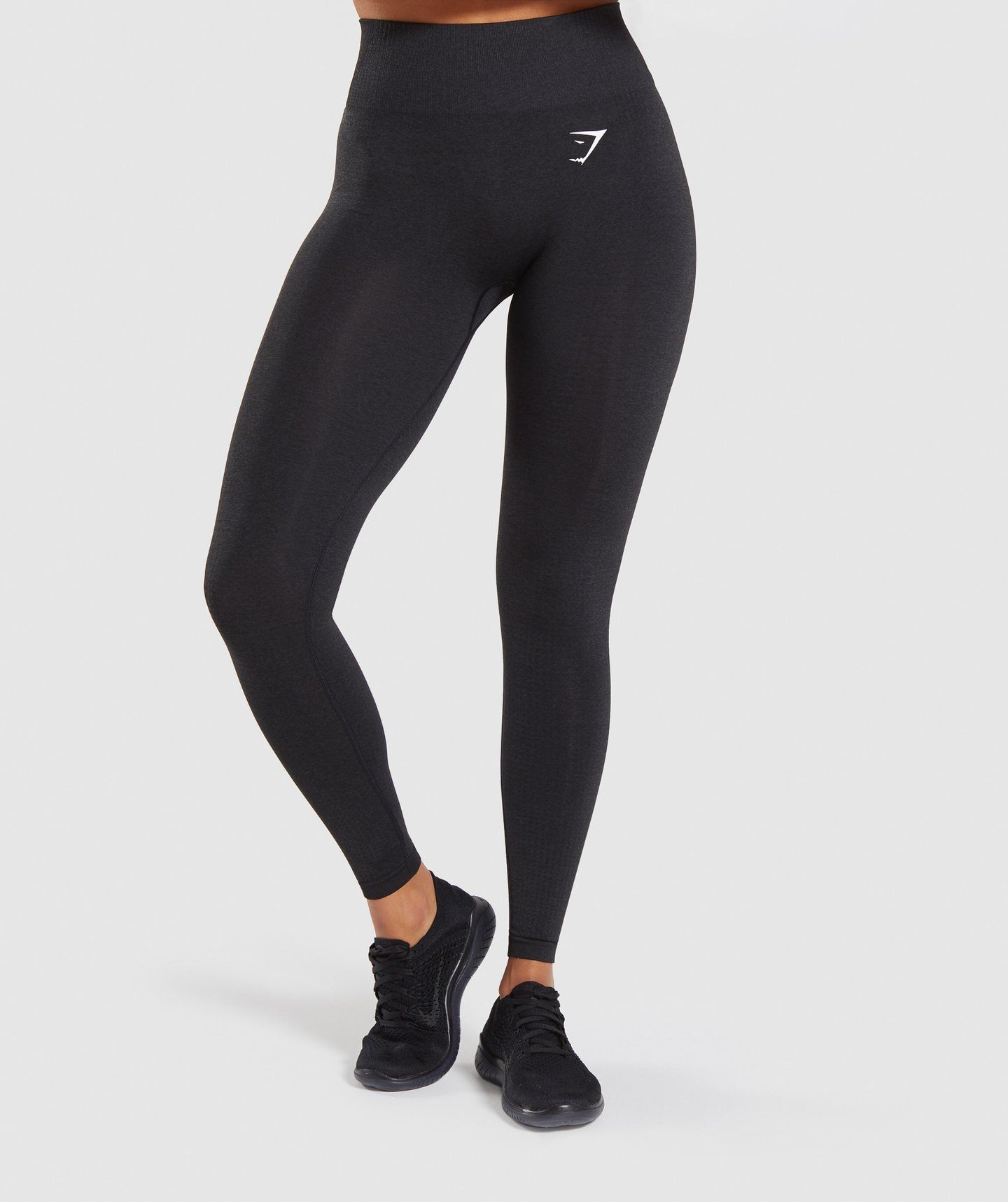 Gymshark Vital Seamless Leggings - Black Marl in 2020 | Seamless ...