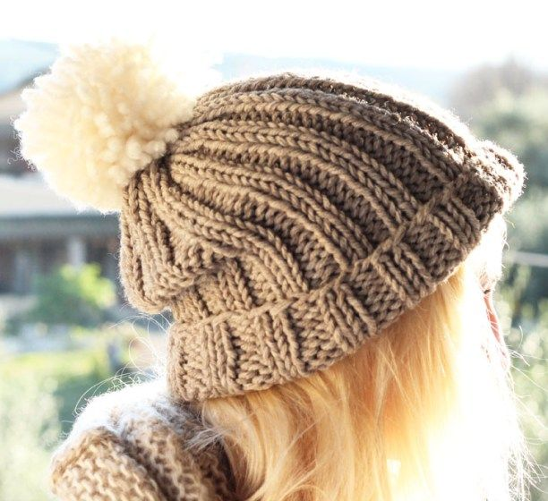 Using Chunky Wool Will Ensure Your Bobble Hat Is Knitted Up In No