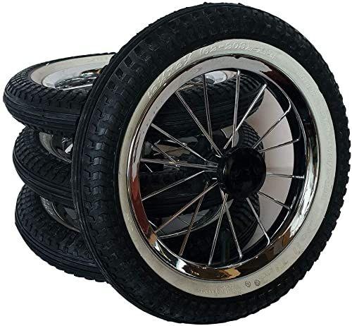 """4x Schlauch 12/""""  12 1//2 x 2 1//4 = 62-203 Kinderwagen Fahrrad Roller Dreirad"""