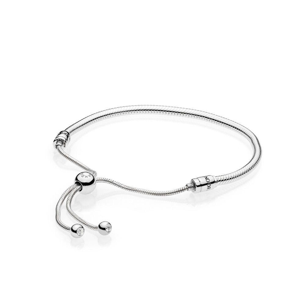 bracelet maille serpent pandora moments