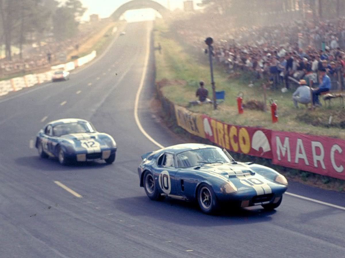 1965 Le Mans No 10 Entered By Shelby America Inc Daytona