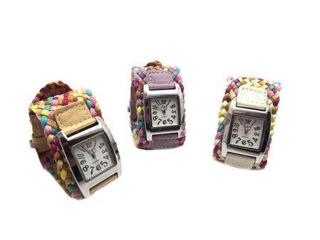 Relógio Colors - Mahhcherie.com.br - facebook.com/mahhcherie